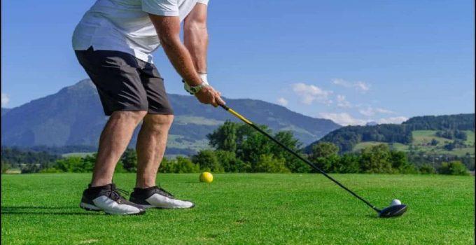Golfer Gripping a Golf Club