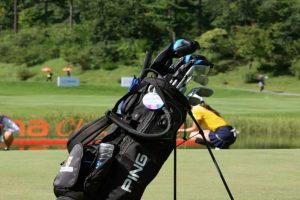 Black Ping Golf Cart Bag