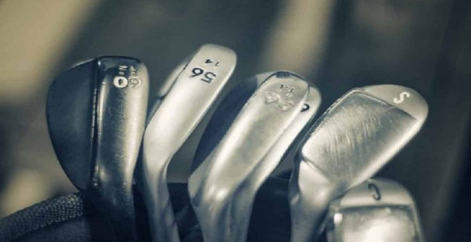 Forged irons golf clubs
