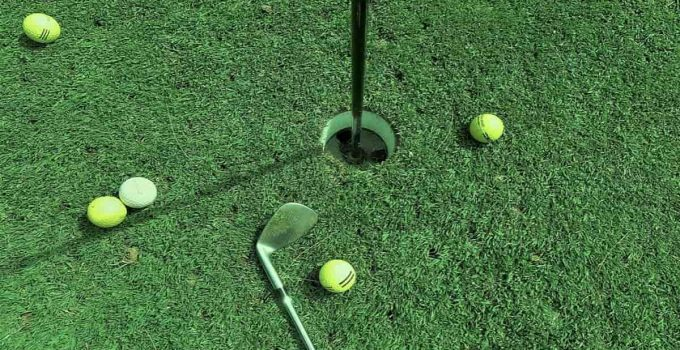 Golf Hole Close-up