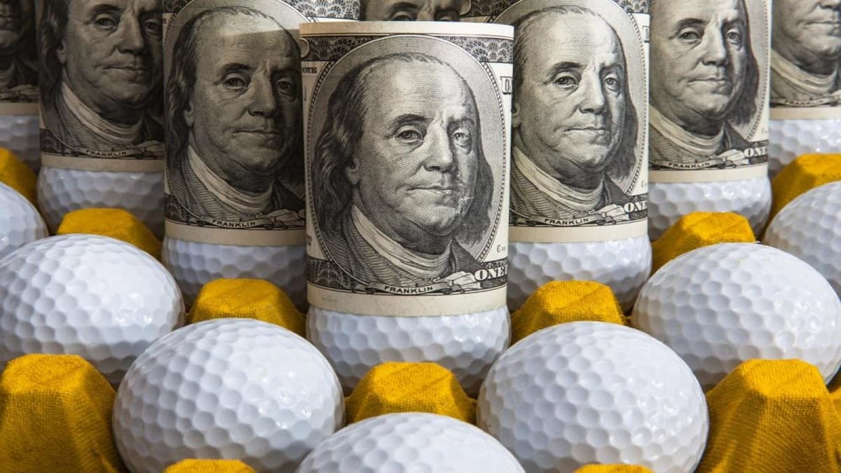 golf and money