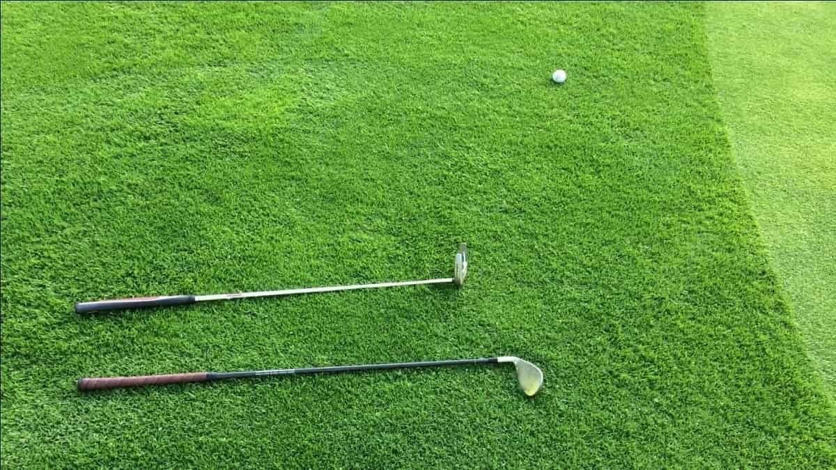Clubs on Grass