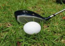 Close up of a golf driver