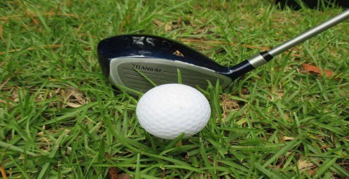 Close up of a golf driver